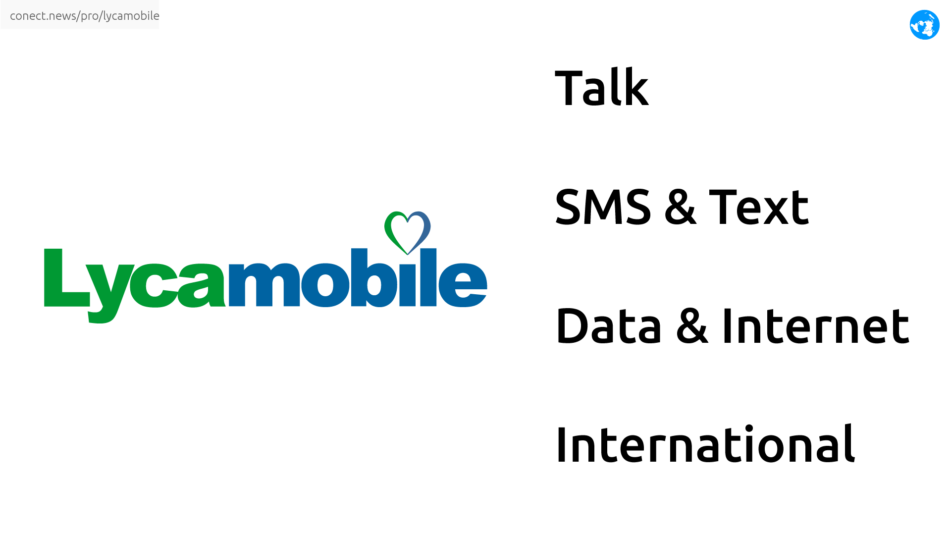 Lycamobile international mobile @conect_news