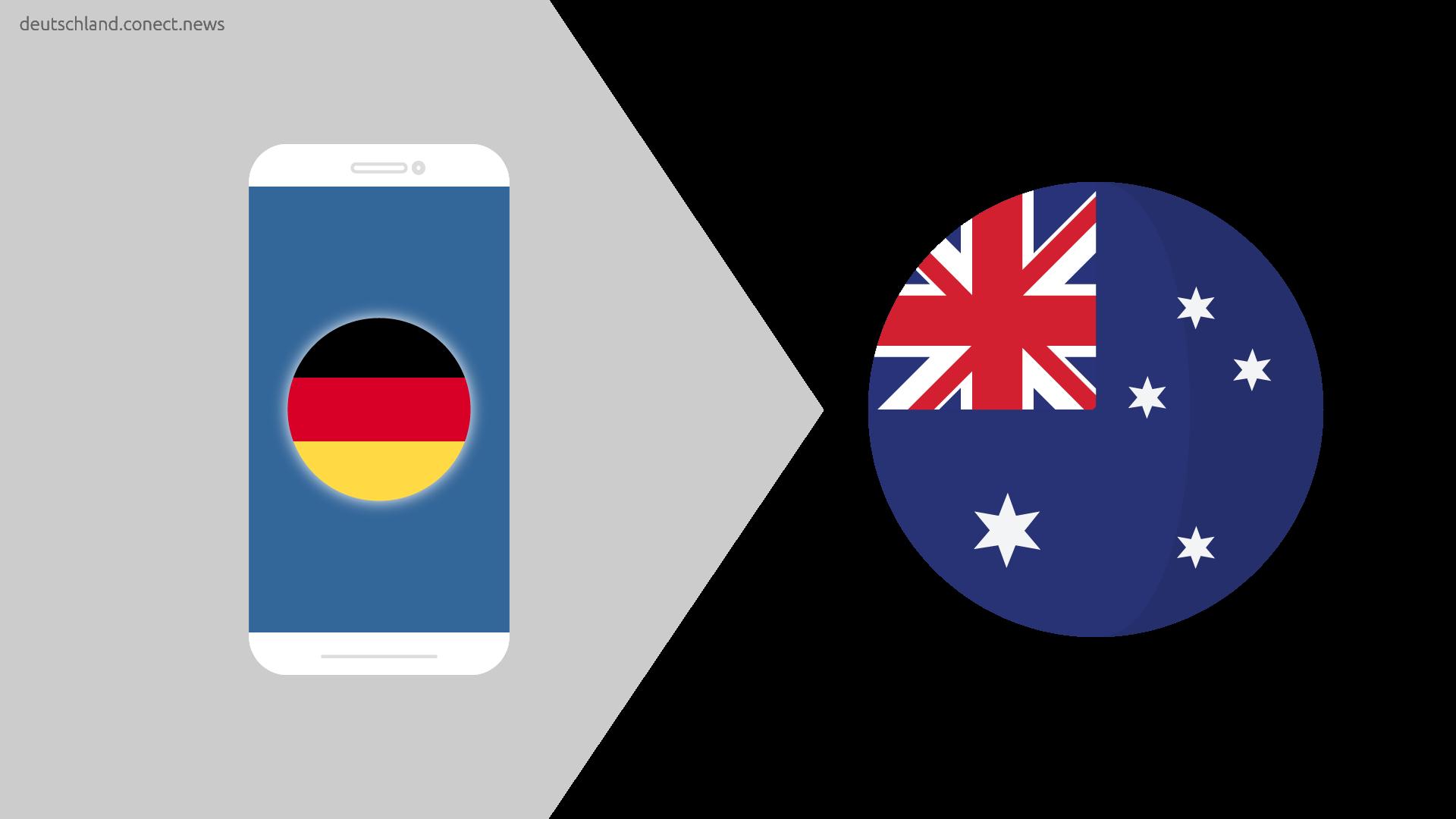 Günstiger von Deutschland nach Australien  @conetc_news
