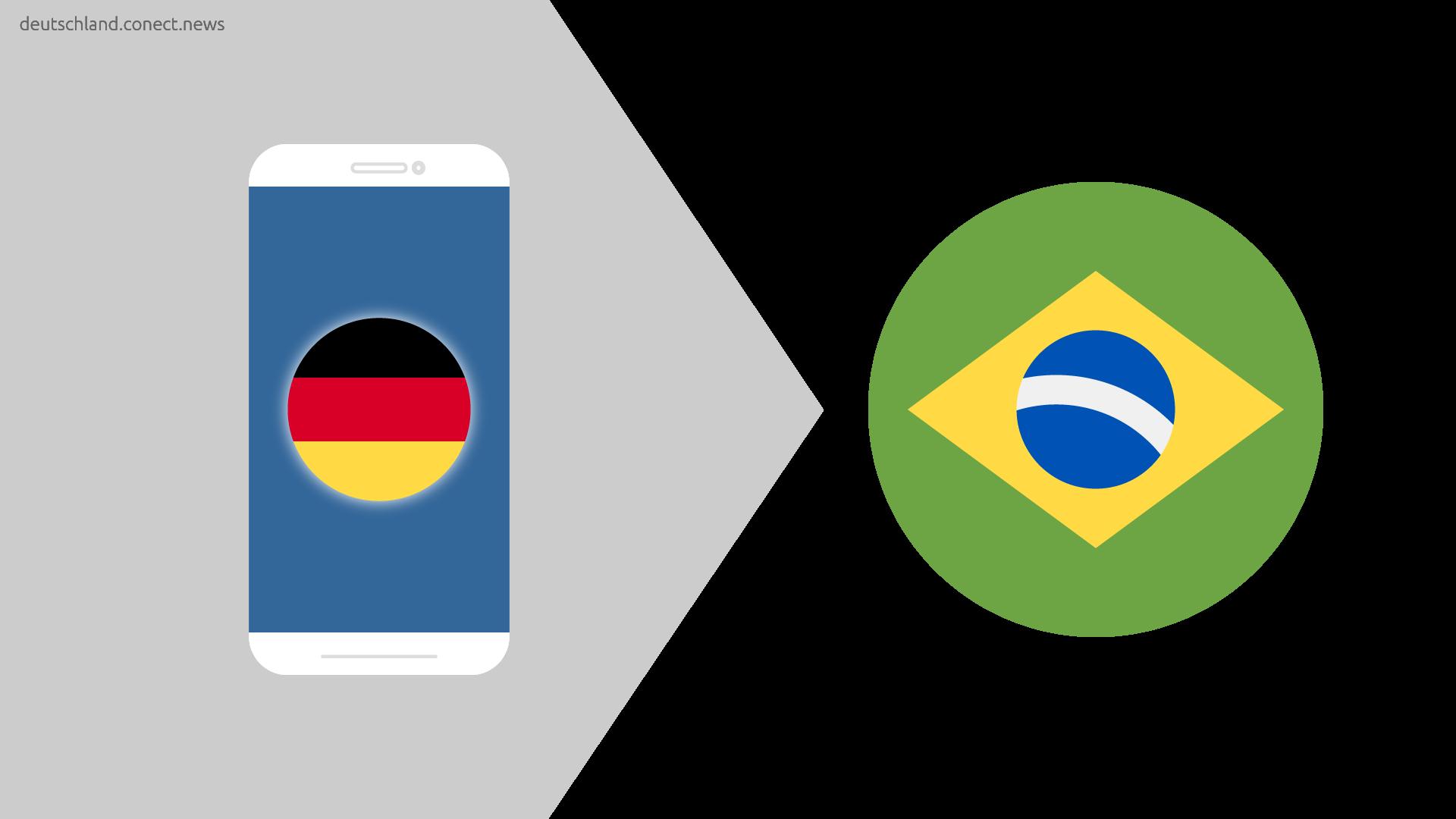 Günstiger von Deutschland nach Brasilien @conetc_news