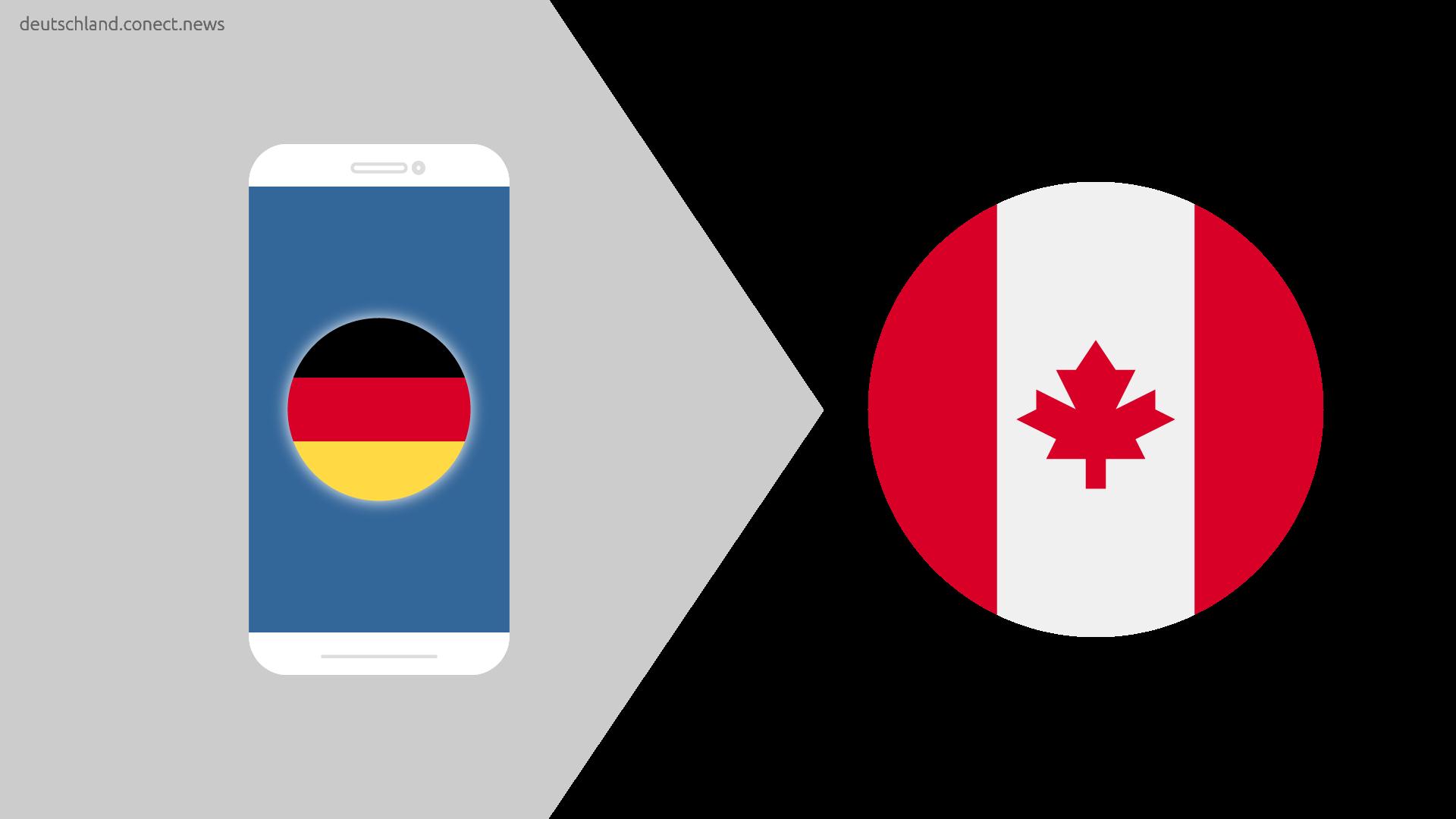 Günstiger von Deutschland nach Kanada @conetc_news