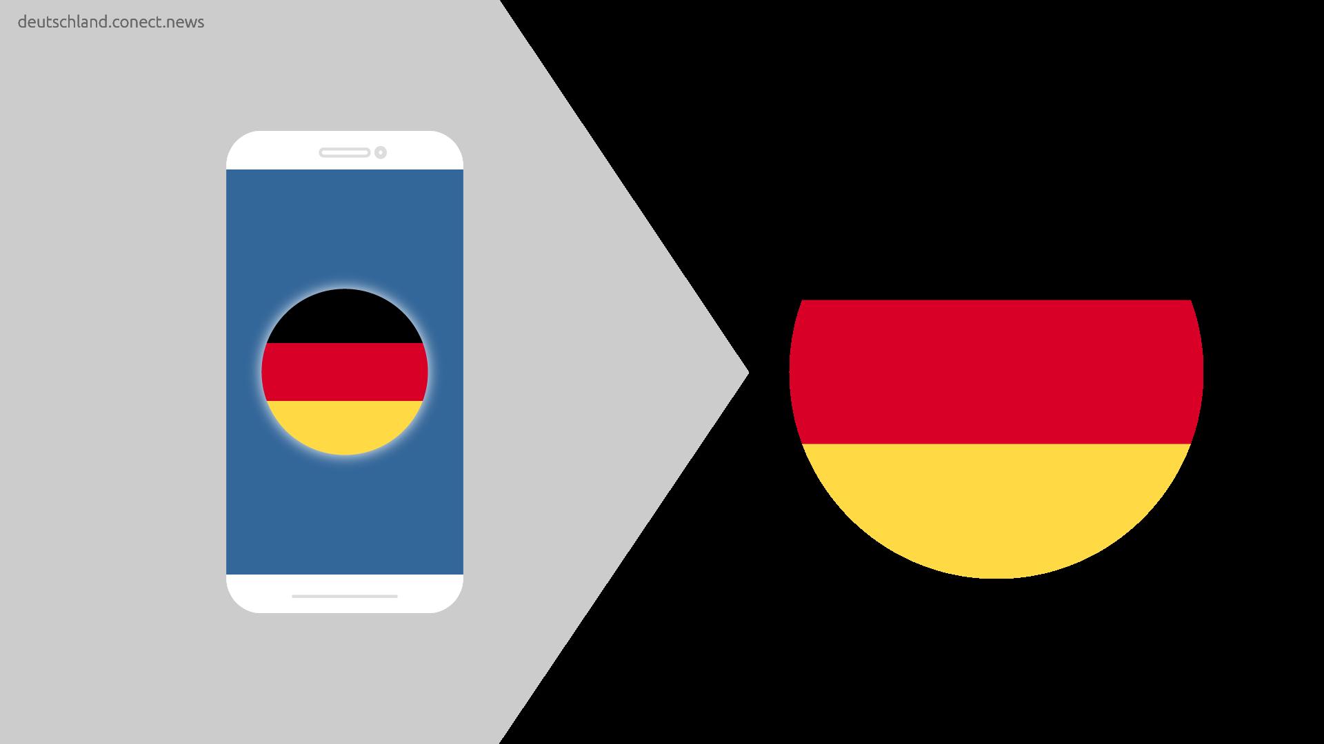 Deutschland telefoniert nach Deutschland