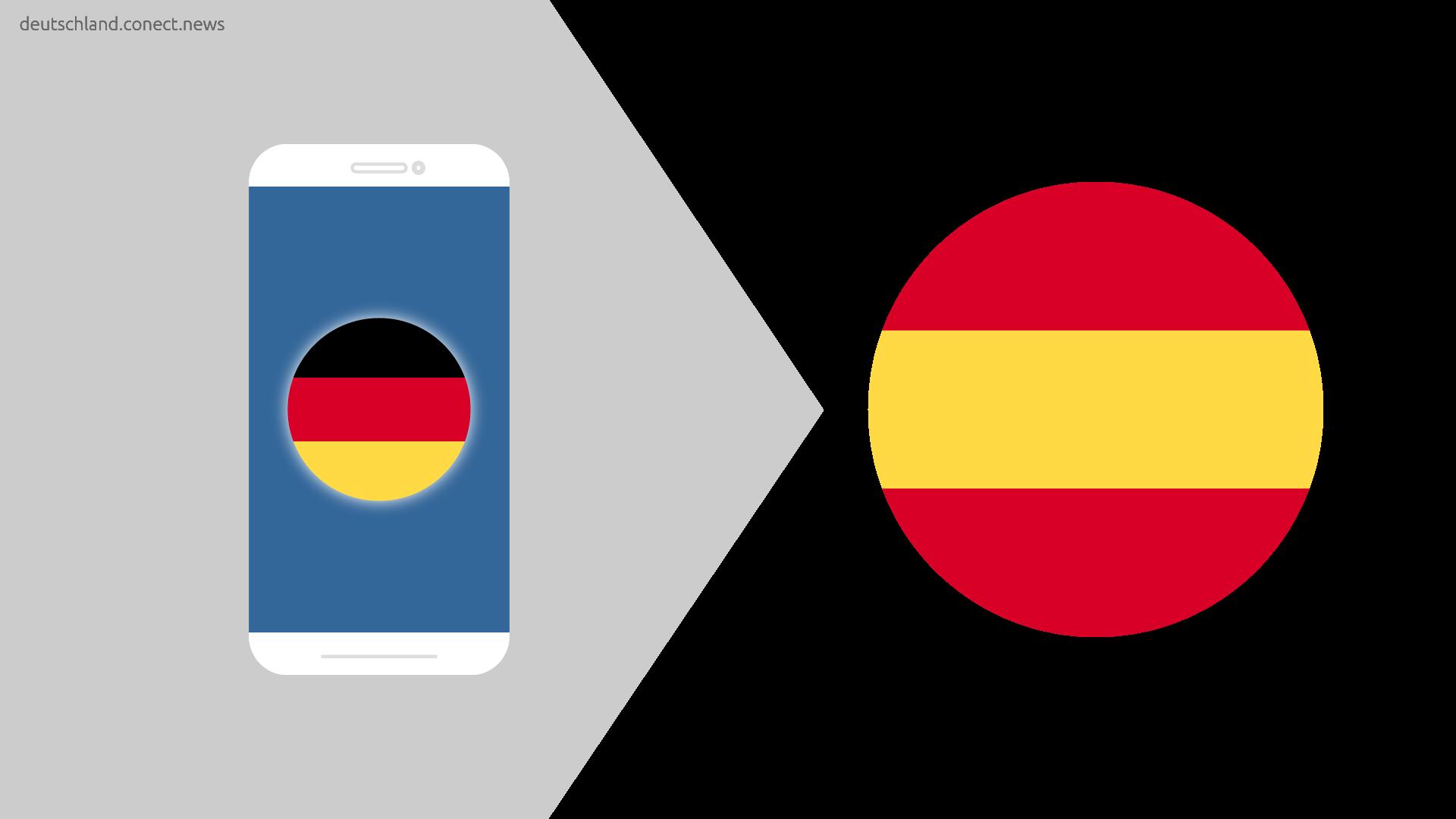 Günstiger von Deutschland nach Spanien @conetc_news