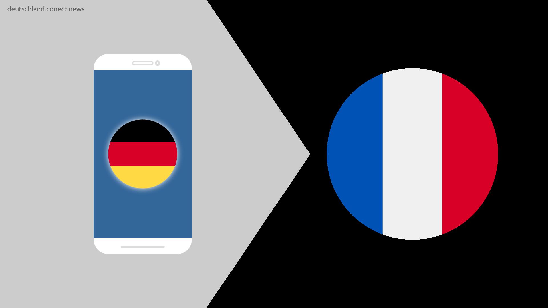 Günstiger von Deutschland nach Frankreich @conetc_news