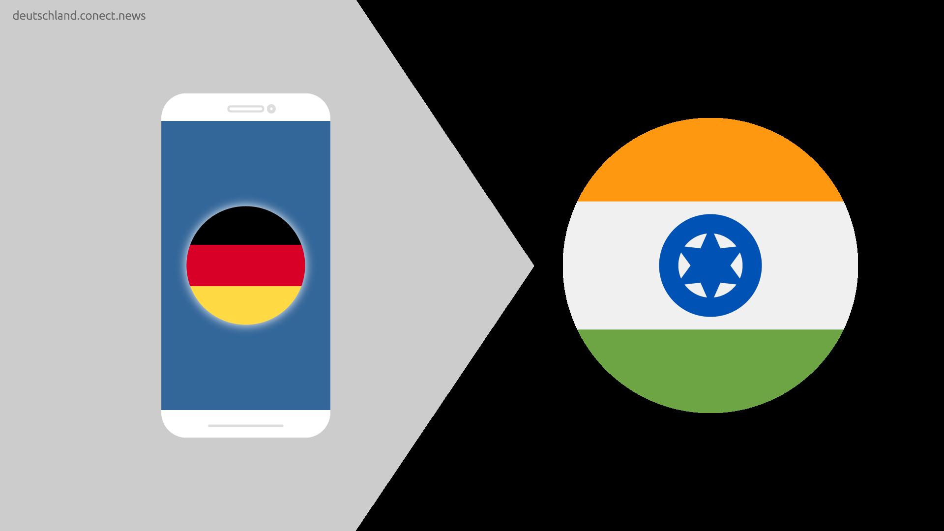 Günstiger von Deutschland nach Indien @conetc_news