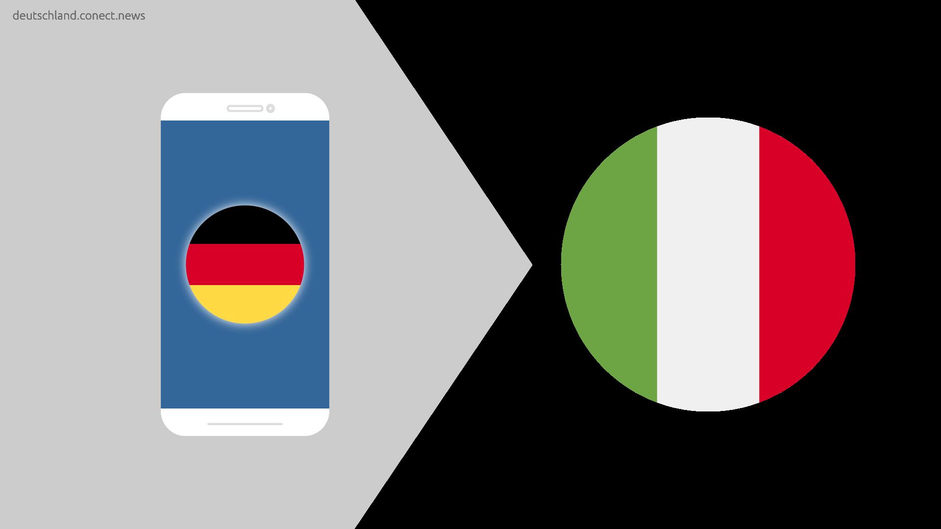 Günstiger von Deutschland nach Italien @conetc_news
