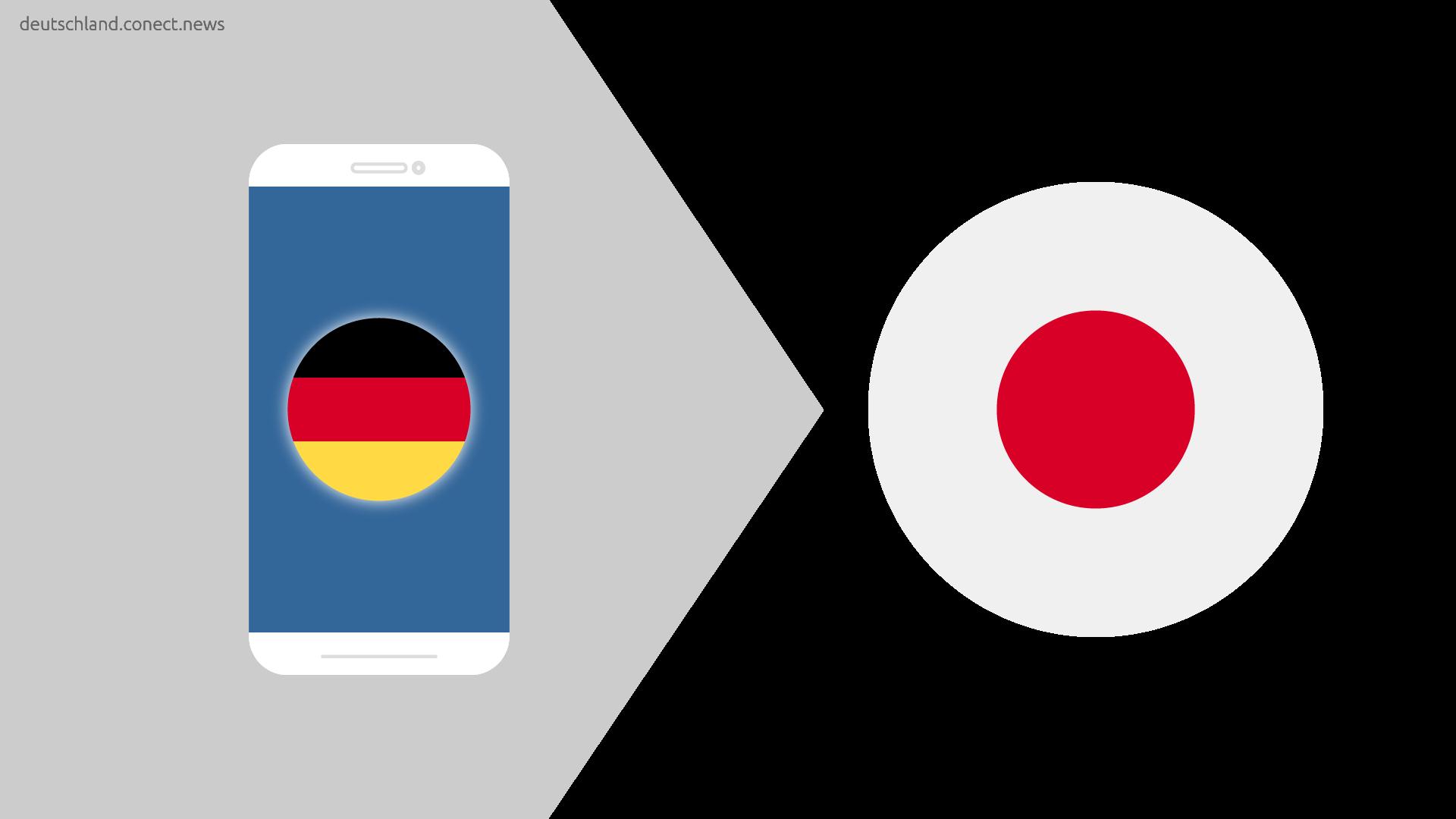Günstiger von Deutschland nach Japan @conetc_news