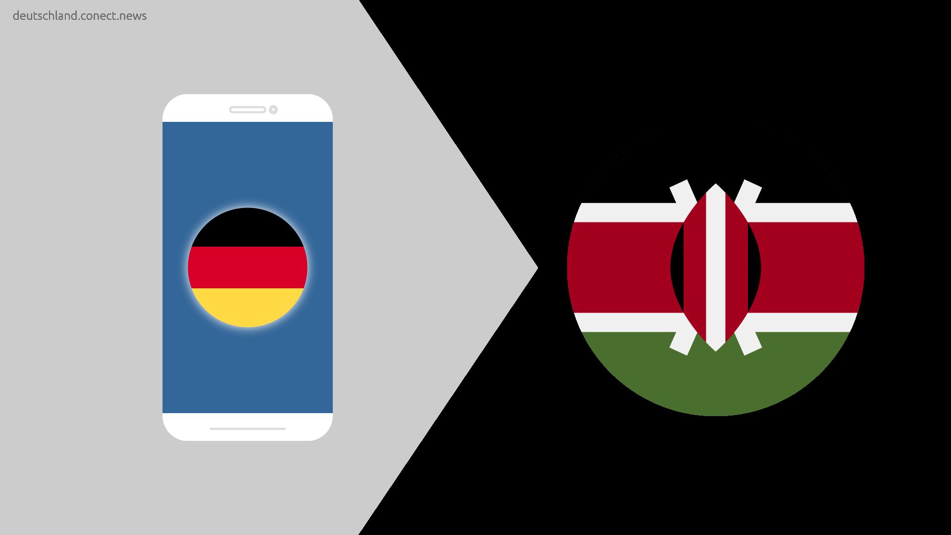Günstiger von Deutschland nach Kenia  @conetc_news