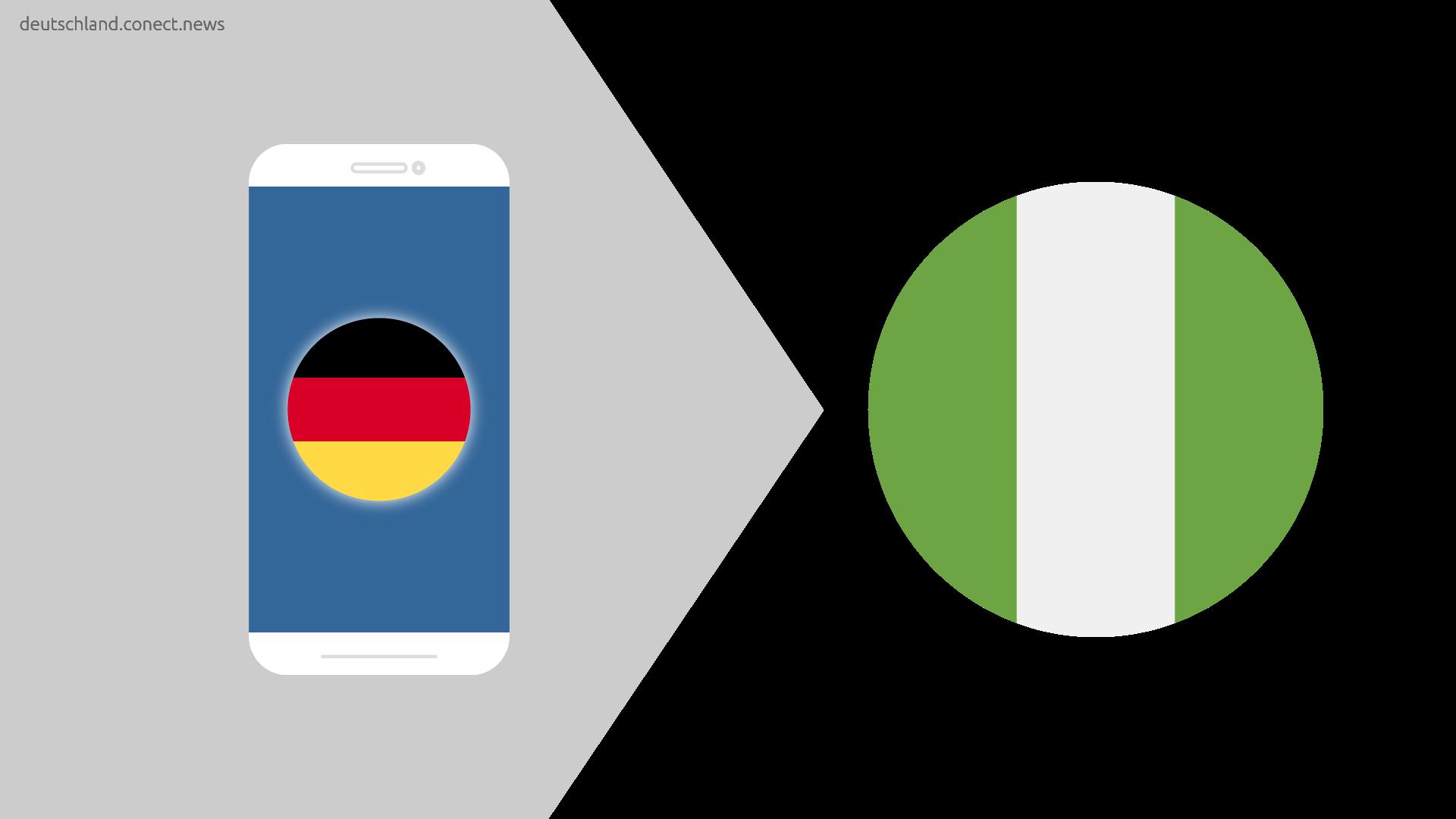 Günstiger von Deutschland nach Nigeria  @conetc_news