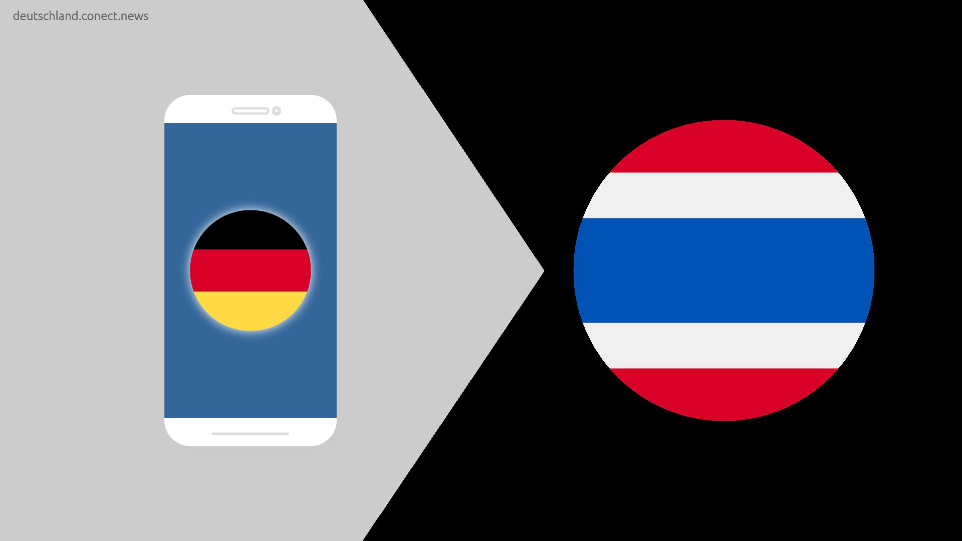 Günstiger von Deutschland nach Thailand @conetc_news