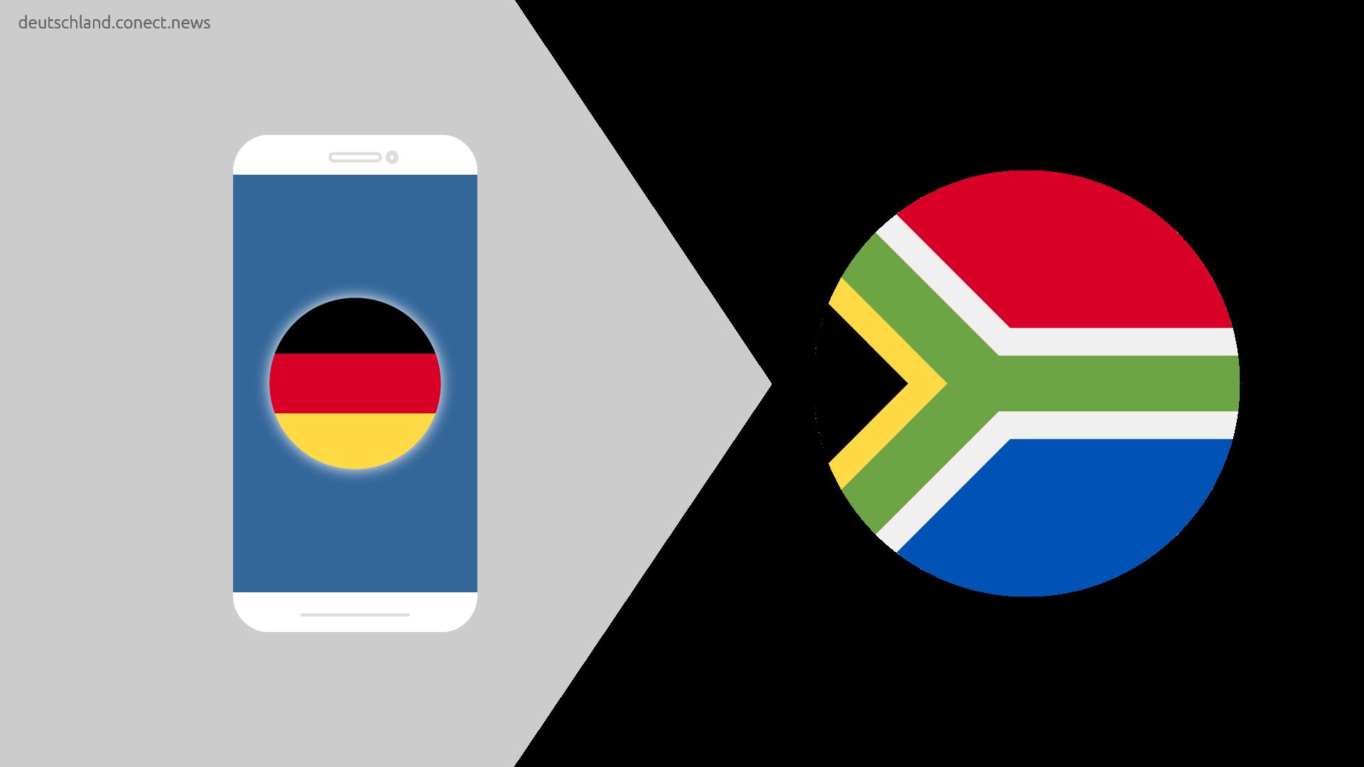 Günstiger von Deutschland nach Südafrika @conetc_news