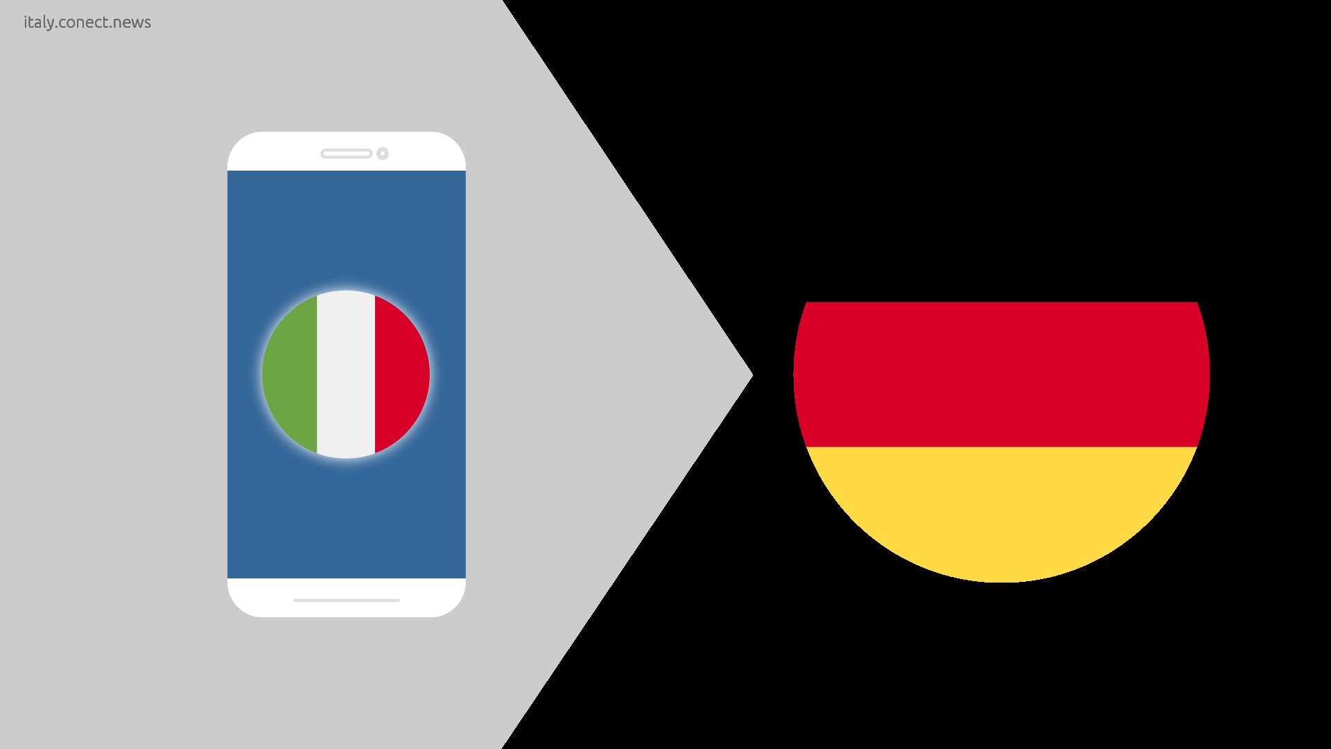 Italien-deutschland @conect_news
