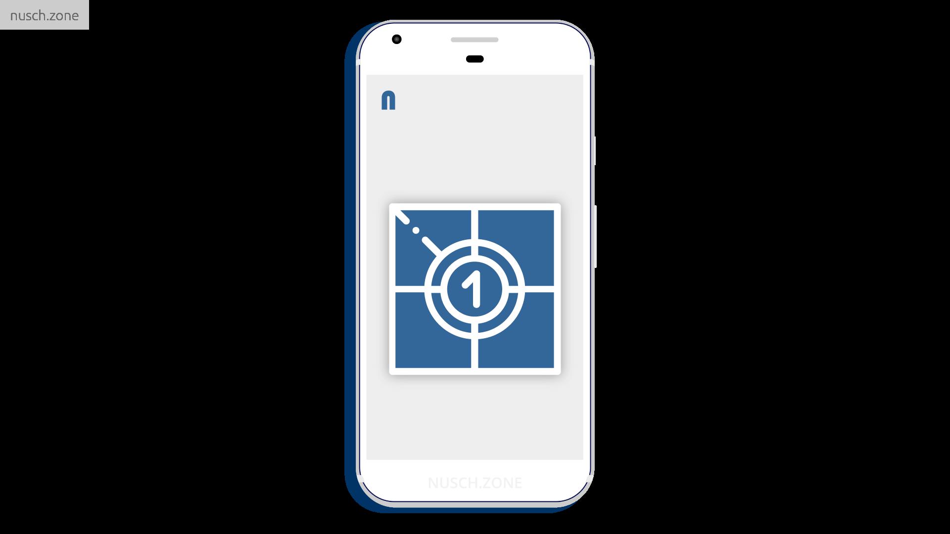 NUSCH - komfortable Handy-App